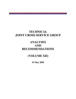 Primary view of object titled 'BRAC 2005 DoD Report Volume XII (TJCSG BRAC Final Report)'.