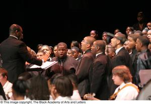Primary view of object titled '[Christmas/Kwanzaa Concert Photograph UNTA_AR0797-147-045-0171]'.