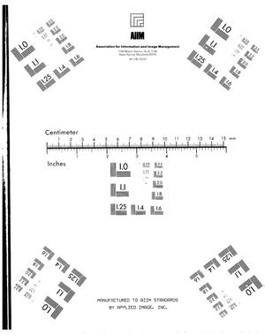 Primary view of object titled '100 Areas technical activities report: Physics, May 1950'.