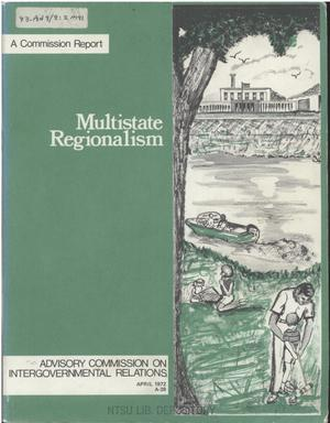 Primary view of object titled 'Multistate regionalism'.