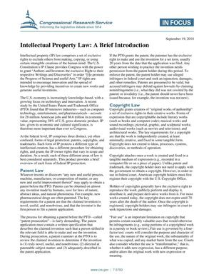 Primary view of object titled 'Intellectual Property Law: A Brief Introduction'.