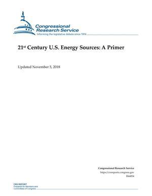 21st Century U.S. Energy Sources: A Primer