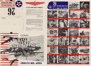 Primary view of object titled '26 job opportunities in the United States Army Air Forces.'.