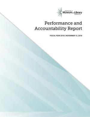 Performance and Accountability Report: Fiscal Year 2018