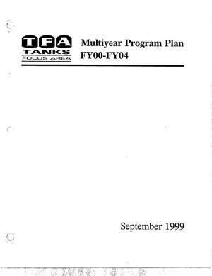 Primary view of object titled 'TFA FY00-FY04 Multiyear Program Plan'.