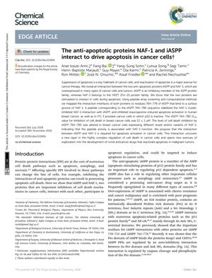 The anti-apoptotic proteins NAF-1 and iASPP interact to drive apoptosis in cancer cells