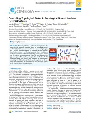 Controlling Topological States in Topological/Normal Insulator Heterostructures