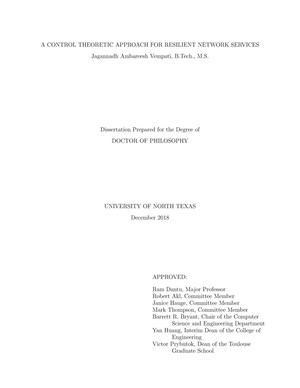 unt dma dissertation