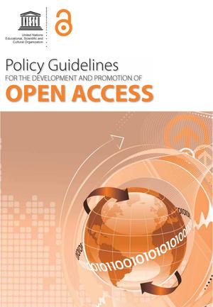 Primary view of object titled 'Policy Guidelines for the Development and Promotion of Open Access'.