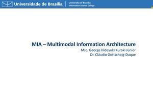 MIA: Multimodal Information Architecture
