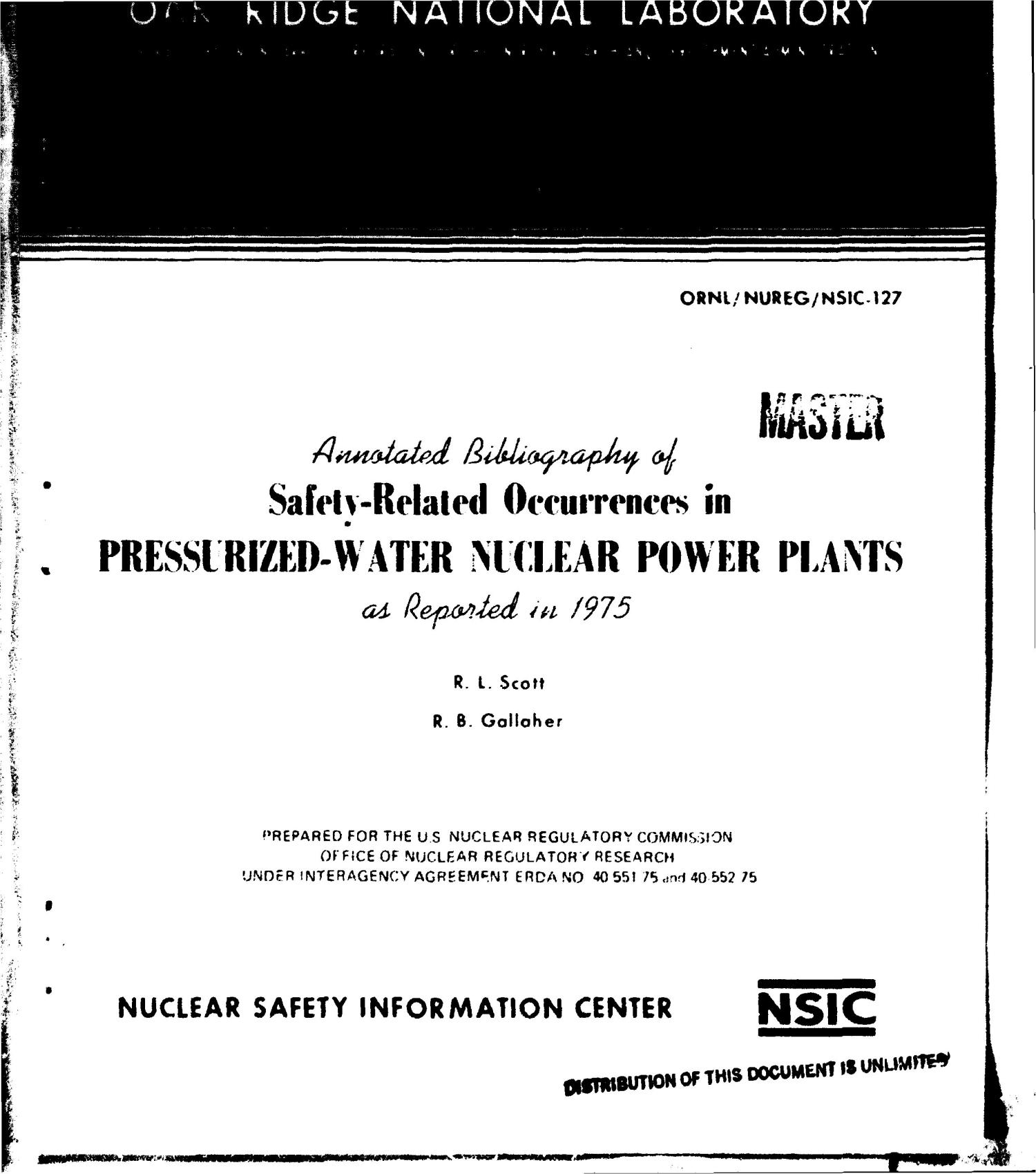 Annotated bibliography of safety-related occurrences in pressurized-water nuclear power plants as reported in 1975                                                                                                      [Sequence #]: 1 of 393