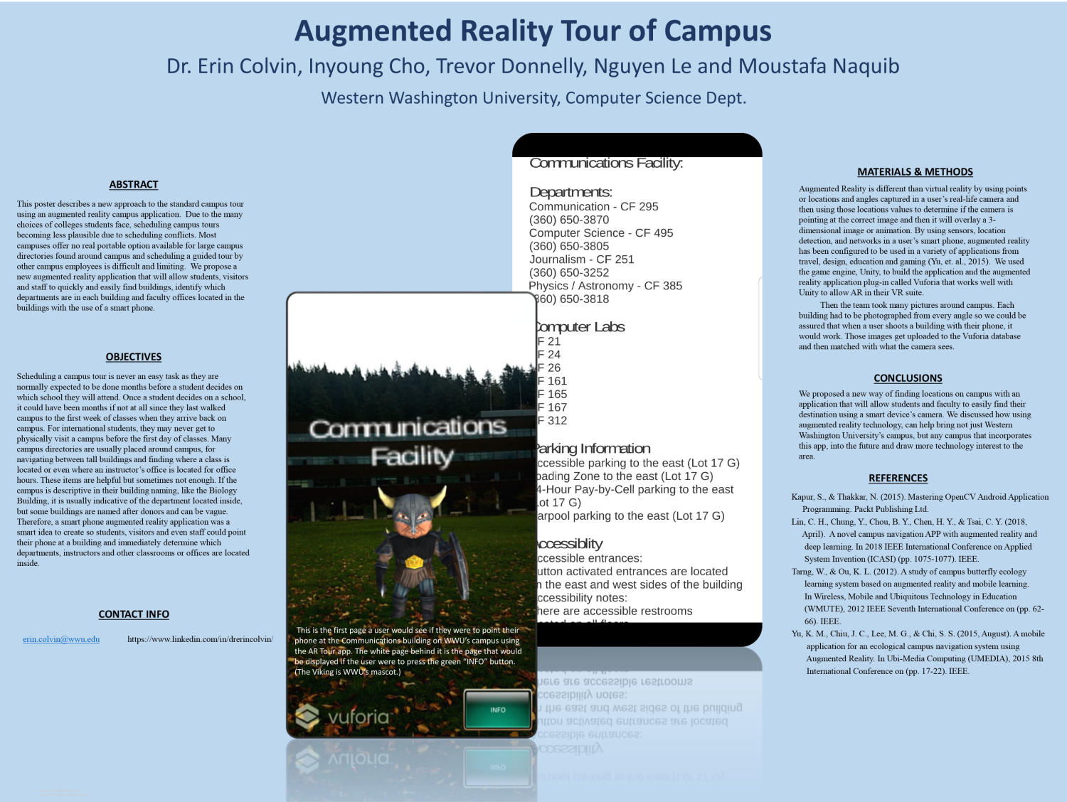 Augmented Reality Tour of Campus - Digital Library