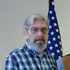 [Portrait of TXSSAR Arlington chapter member Allan Husch]