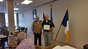 Primary view of [TXSSAR Arlington Chapter Members John Anderson and Richard Lee Martin]