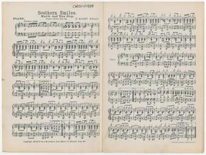 Primary view of Southern Smiles: Piano Part