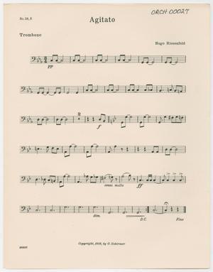 Primary view of Agitato: Trombone