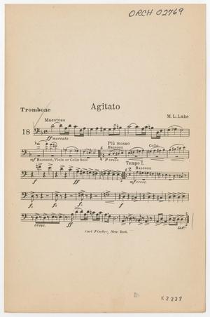 Primary view of Agitato (Heavy): Trombone
