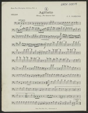Primary view of Agitato: Cello