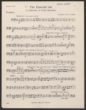 Primary view of The Emerald Isle: Trombone Part ORCH-00371-14