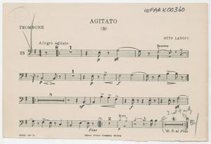 Primary view of Agitato (B): Trombone Part