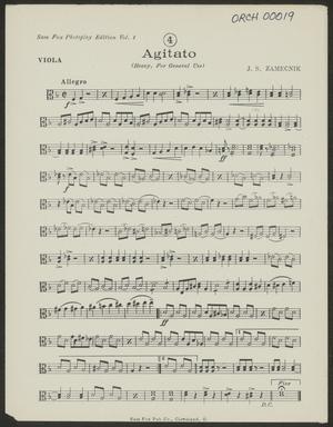 Primary view of Agitato: Viola