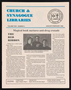 Primary view of object titled 'Church & Synagogue Libraries, Volume 29, Number 4, January 1996-February 1996'.