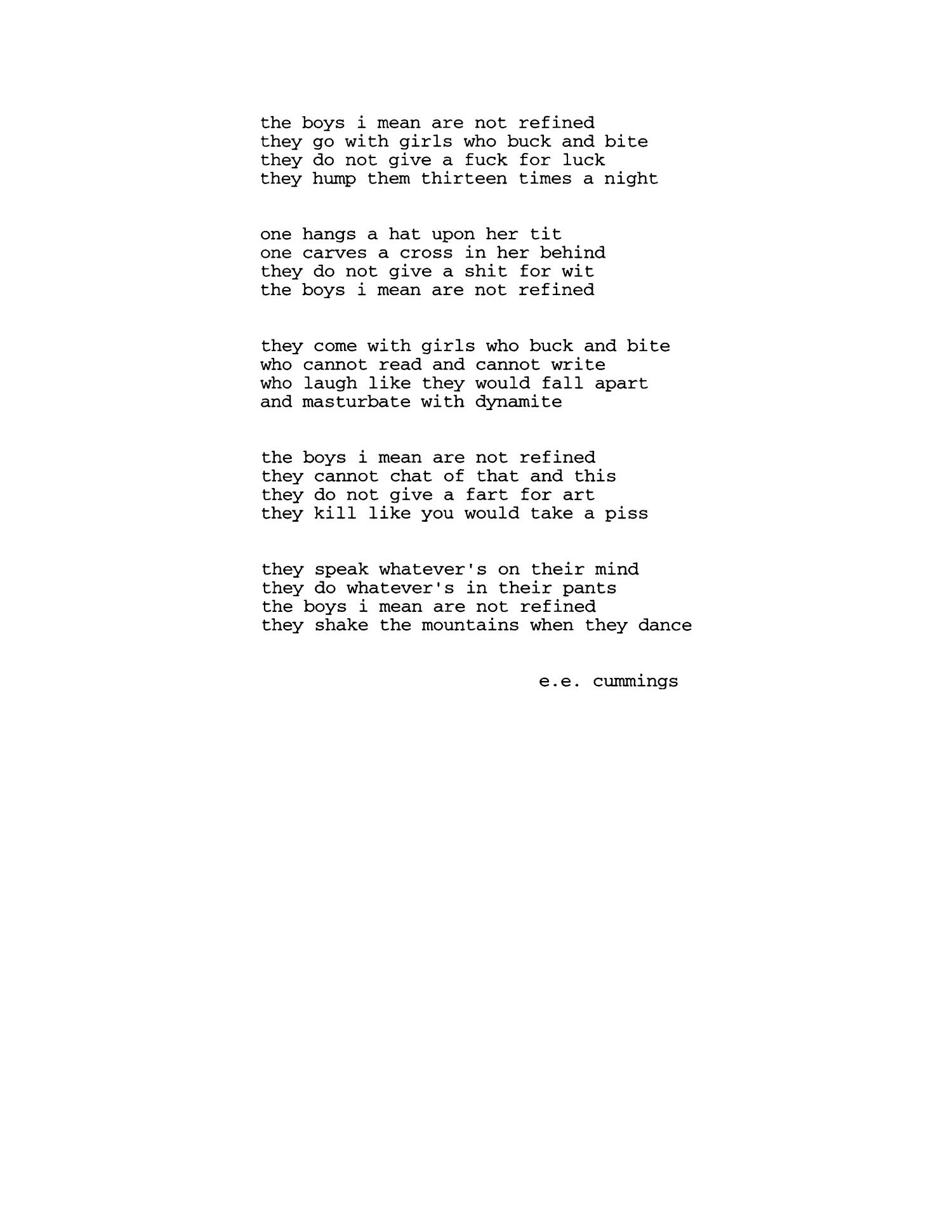 Short Stories Based on the Poetry of E  E  Cummings - Page 33