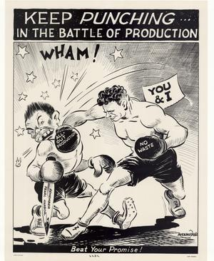Keep punching--  in the battle of production : beat your promise!