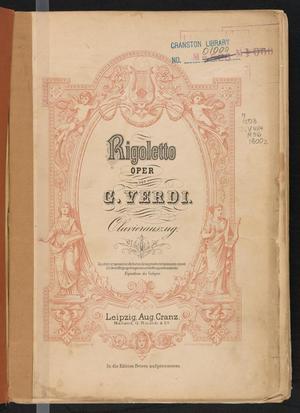 Primary view of Rigoletto: Oper