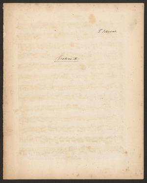Primary view of Grand quatuor pour deux violons, alto e violoncelle: œuvre posthume - violin 2
