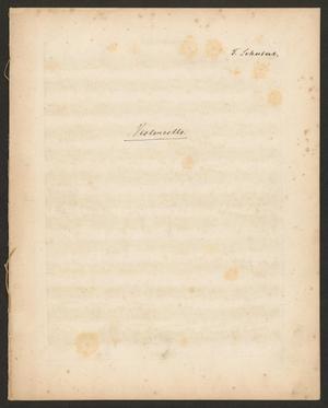 Primary view of Grand quatuor pour deux violons, alto e violoncelle: œuvre posthume - cello