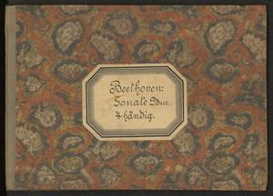 Primary view of Sonate pour le pianoforte à quatre mains, oeuv. 6
