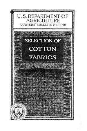 Primary view of object titled 'Selection of cotton fabrics.'.