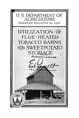 Primary view of object titled 'Utilization of flue-heated tobacco barns for sweetpotato storage.'.
