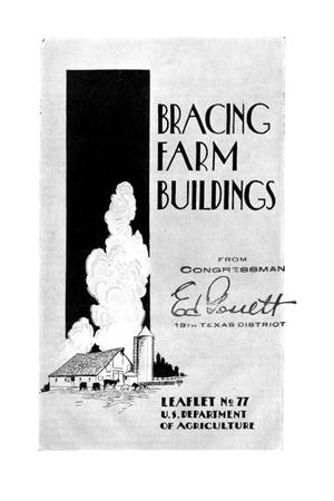Primary view of object titled 'Bracing farm buildings.'.