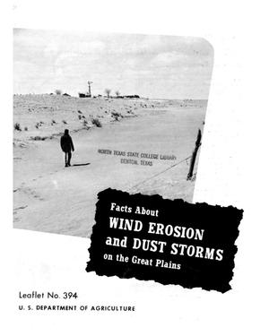 Primary view of object titled 'Facts About Wind Erosion and Dust Storms on the Great Plains.'.