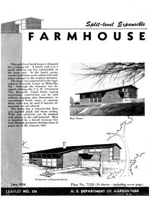 Primary view of object titled 'Farmhouse: Split-Level Expansible.'.