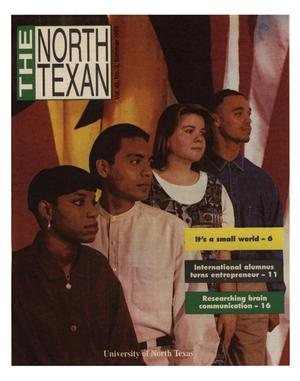 Primary view of object titled 'The North Texan, Volume 45, Number 2, Summer 1995'.
