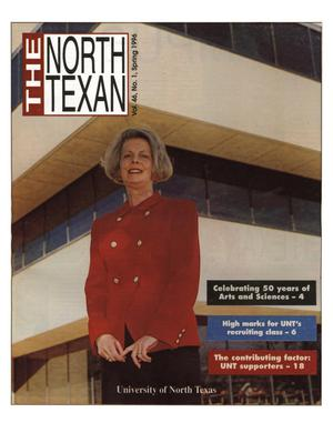 Primary view of object titled 'The North Texan, Volume 46, Number 1, Spring 1996'.