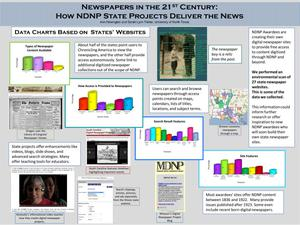Newspapers In The 21st Century: How NDNP State Projects Deliver The News