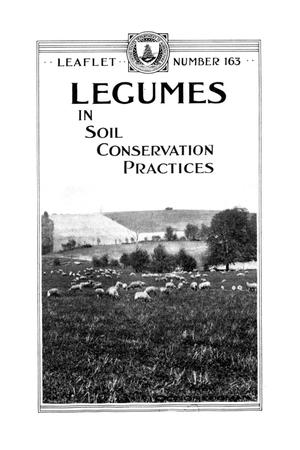 Legumes in soil conservation practices.