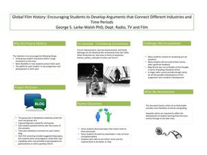 Primary view of object titled 'Global Film History: Encouraging Students to Develop Arguments that Connect Different Industries and Time Periods'.