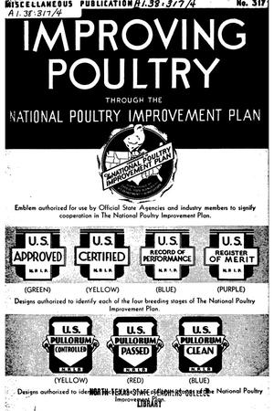 Primary view of object titled 'Improving poultry through the National Poultry Improvement Plan.'.