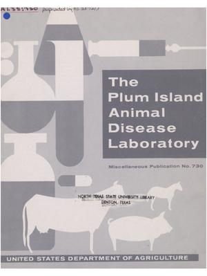 Primary view of object titled 'The Plum Island Animal Disease Laboratory.'.