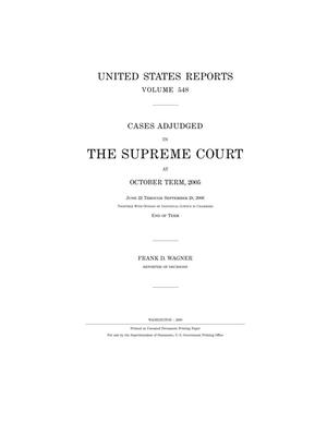 Primary view of object titled 'Cases Adjudged in The Supreme Court at October Term, 2005'.