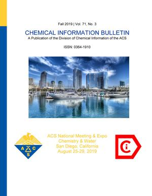 Primary view of object titled 'Chemical Information Bulletin, Volume 71, Number 3, Fall 2019'.