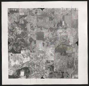 Primary view of object titled '[Aerial Photograph of Denton County, DJR-5P-29]'.
