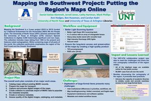 Primary view of object titled 'Mapping the Southwest Project: Putting the Region's Maps Online'.