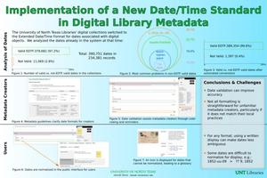 Primary view of object titled 'Implementation of a New Date/Time Standard in Digital Library Metadata'.