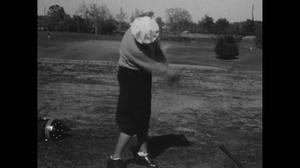 Primary view of [News Clip: Women's golf]